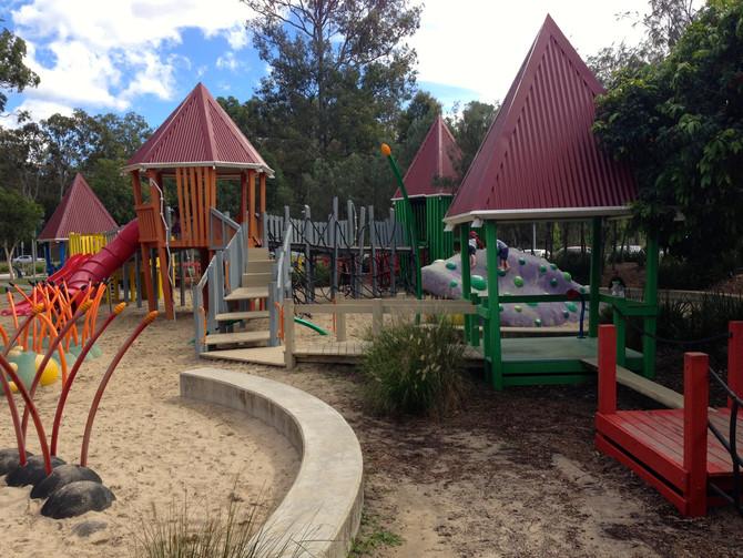 Playground Review, Hidden World Playground, Fitzgibbon