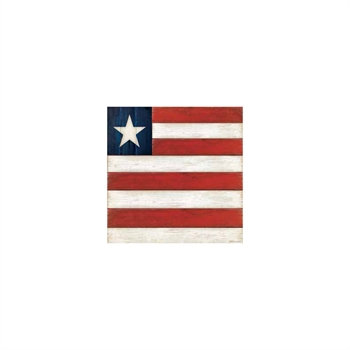 Big Striped Flag Cocktail Napkin