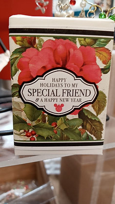 Christmas Special Friend Vintage Soap