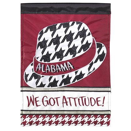 University of Alabama We Got Attitude Large Flag