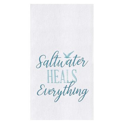Saltwater Heals Kitchen Towel