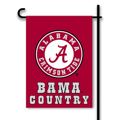 Alabama Crimson Tide BAMA Country Garden Flag