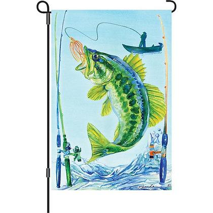 Bass Garden Flag