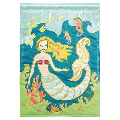 Mermaid Garden Flag