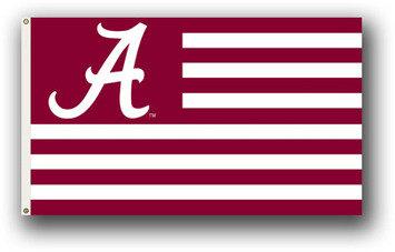 University of Alabama with Stripes
