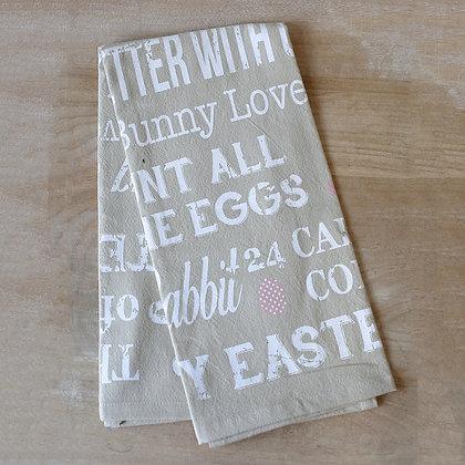 Easter Life Flour Sack Hand Towel 20x28