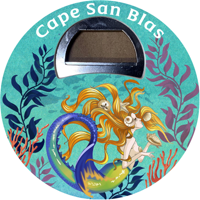 Mermaid- Sunkissed Magnetic Bottle Opener