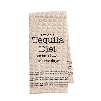 Tequila Diet Waffle - Weave Kitchen Towel