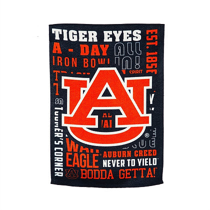 Auburn University Fan Rules House Flag 28x44