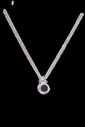 Annaleece By Devries Garnet Essentials Necklace