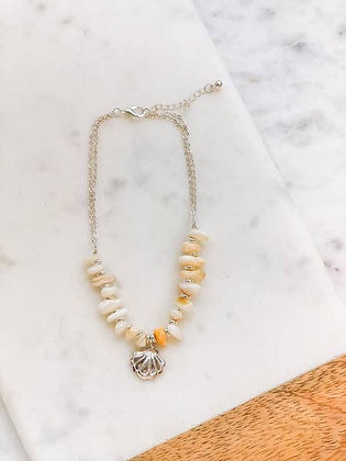 Sea Shell Beaded Anklet