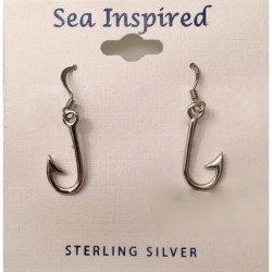 Fishing Hook Wire Earrings