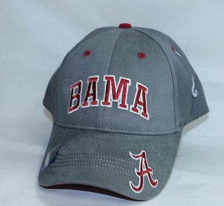 Grey BAMA Baseball Cap