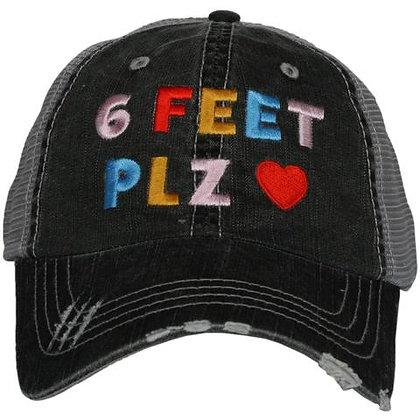 6 Feet PLZ Baseball Adjustable Cap