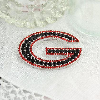 University of Georgia Crystal Logo Pin