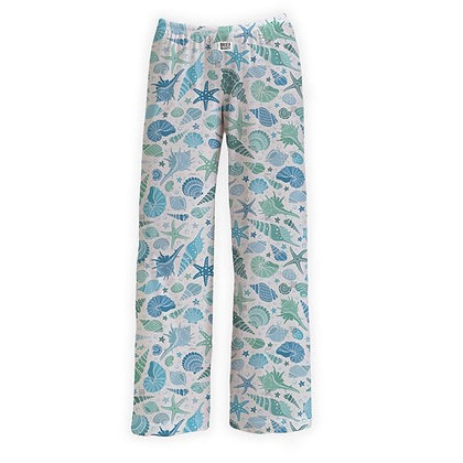 Teal Shell Lounge Pants