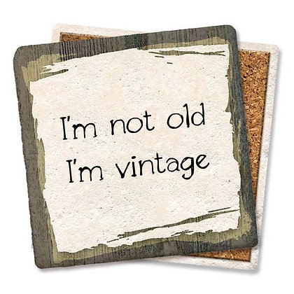 I'm Not Old I'm Vintage Car Coaster