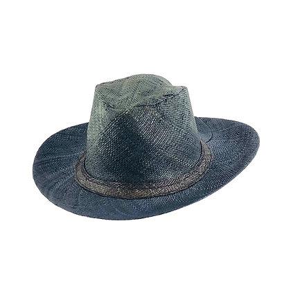 Panama Straw Hat - Black