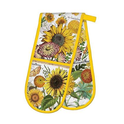Sunflower Double Oven Gloves