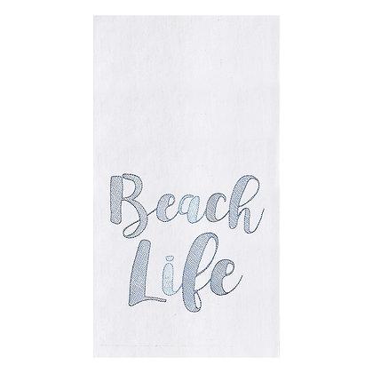 Beach Life Flour Sack Towel