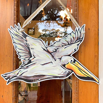 Pelican Door Hanger