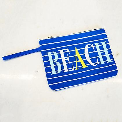Beach Wet/Dry Bag in Royal 12X9