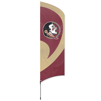 Florida State Tall Team Flag Kit with Pole 11.5 ft tall