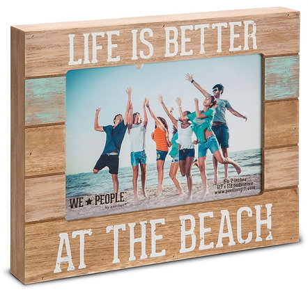 Life is Better at the Beach Photo Frame Holds 5x7