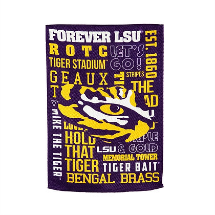 LSU Fans Rule House Flag 28x44