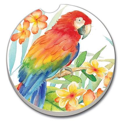 Car Coaster - Tropical Birds