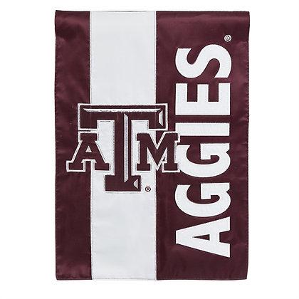 Texas A&M, Embellish Garden Flag 12.5x18