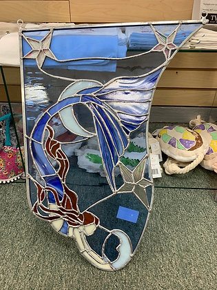 Elements of Stained Glass - Mermaid