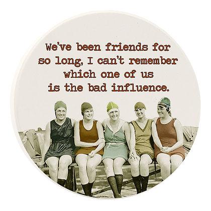 Friends so long car coaster