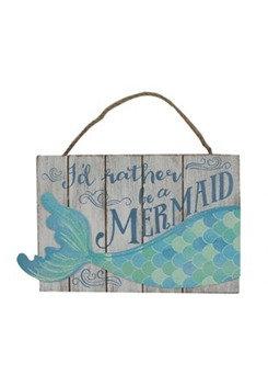 Mermaid Tail Plaque