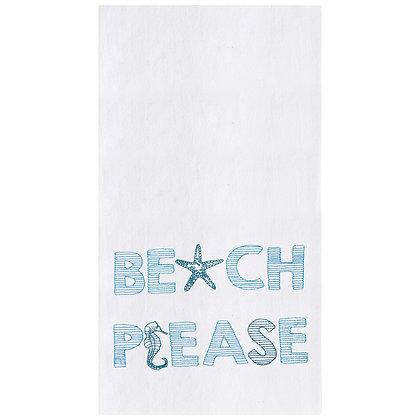 Beach Please Kitchen Towel