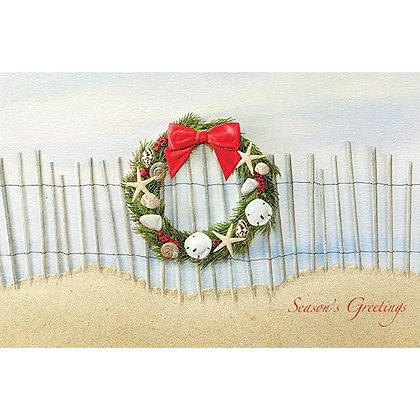 Sea Coast Style Christmas Cards