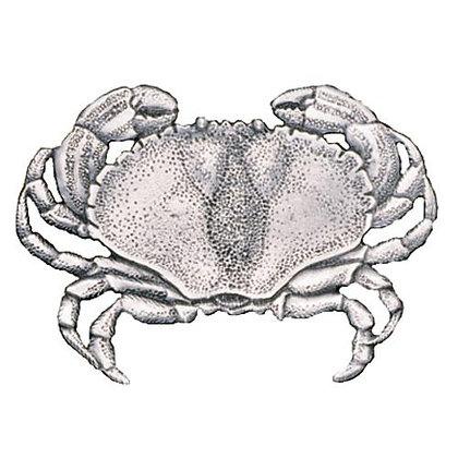 Pewter Sand Crab Magnet - copyright