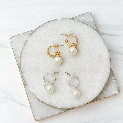 Pearl Drop Dangle Earrings