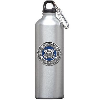 US Coast Guard Water Bottle - copyright