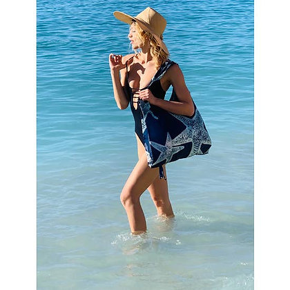 Starfish Reusable Beach/Grocery Tote Bag