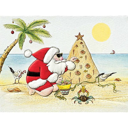 Beach Bash - Petite Christmas Cards
