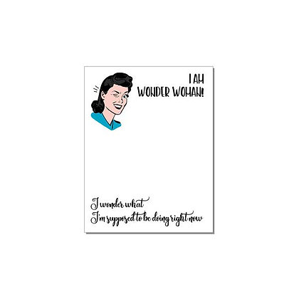 I am Wonder Woman Notepad