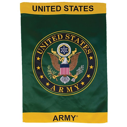 U.S. Army Symbol Lustre House Banner 28x40""