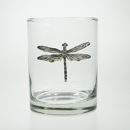 Dragonfly Tumbler 14oz cooyright by Maurice Milleur