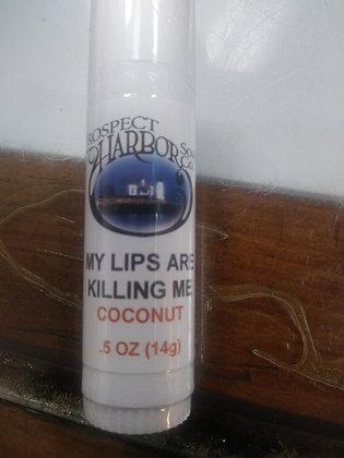 0.5 oz Coconut Lip Balm