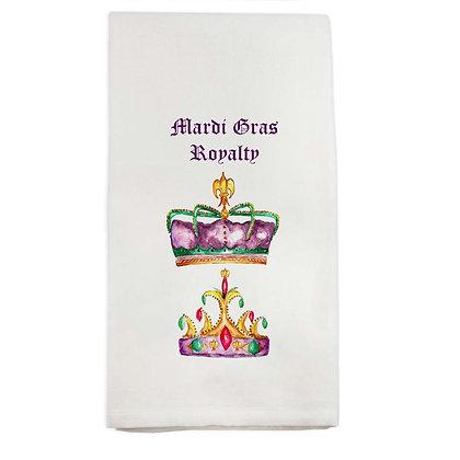 Mardi Gras Royalty Kitchen Towel