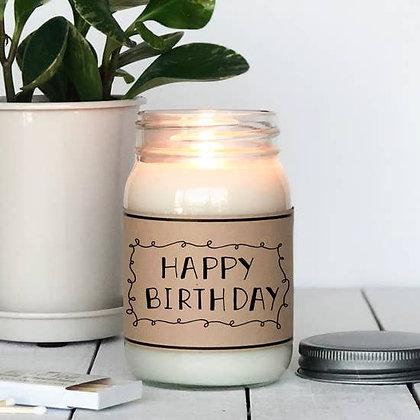Happy Birthday / Birthday Scented Candle 9oz