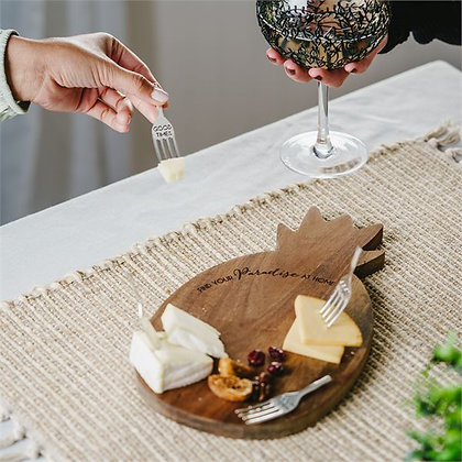 Pineapple Cheese/Bread Board