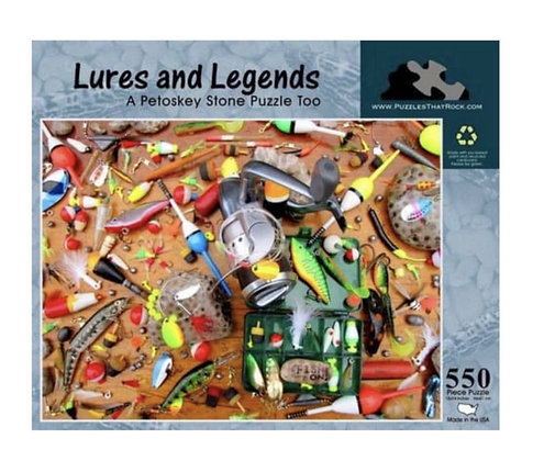 Lures and Legends Jigsaw Puzzle 550 Pieces