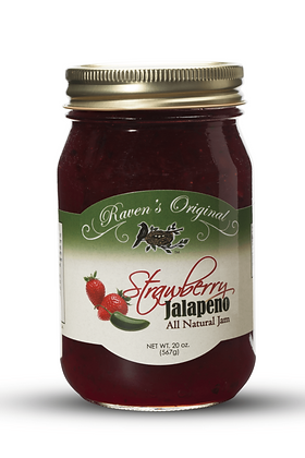 Raven's Original Strawberry Jalapeno Jam